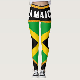 Jamaica Flag Leggings