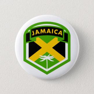 Jamaica Flag Logo Style 6 Cm Round Badge