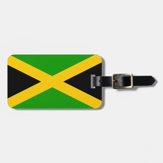 Jamaica Flag Luggage Tag