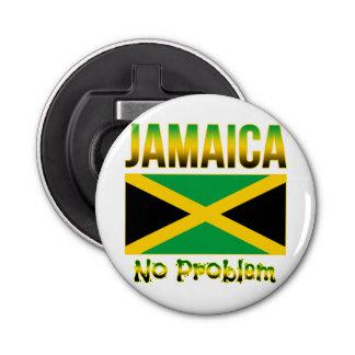 Jamaica Flag No Problem Bottle Opener