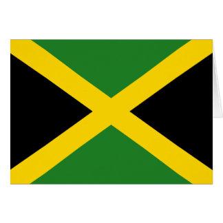 Jamaica Flag Notecard Note Card