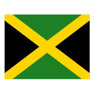 Jamaica Flag Postcard