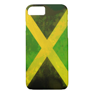 jamaica flag - reggae roots iPhone 8/7 case