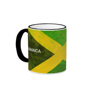 jamaica flag - reggae roots ringer mug