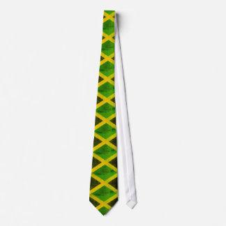 jamaica flag - reggae roots tie