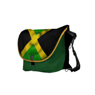 Jamaica Flag Rickshaw Messenger Bag