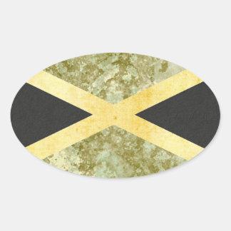 Jamaica  Flag Stickers