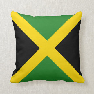 Jamaica Flag x Flag Pillow