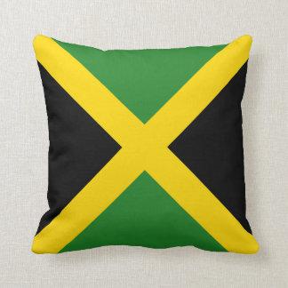 Jamaica Flag x Flag Pillow