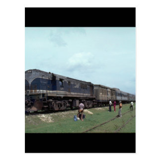 Jamaica, GE #121 with local_Trains of the World Postcard