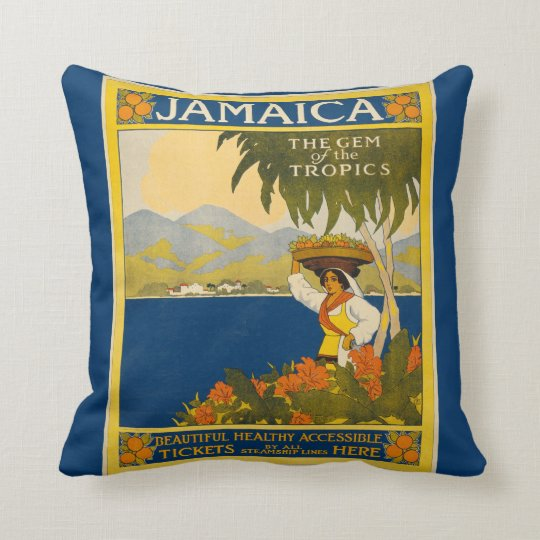 Jamaica - Gem of the Tropics (vintage poster)