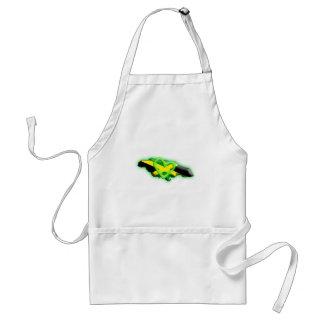 Jamaica (green heart) standard apron