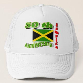 Jamaica independence trucker hat