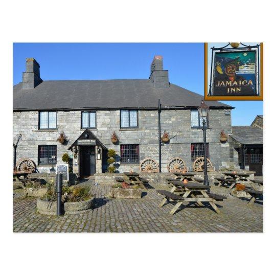 Jamaica Inn Bodmin Moor Cornwall England Postcard