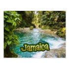 Jamaica Irie Blue Hole, Ocho Rios Postcard