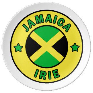 Jamaica Irie Porcelain Plates