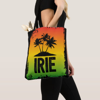 Jamaica Irie Tropical Rasta Greeting Tote Bag
