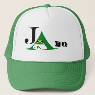 Jamaica JA BO Green Trucker Hat