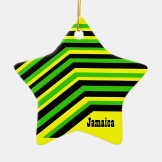 Jamaica jamaica christmas ornament