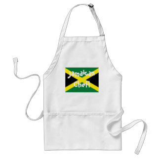 Jamaica jamaican Chef flag apron