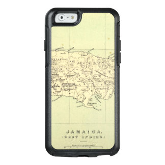 Jamaica Lithographed Map OtterBox iPhone 6/6s Case