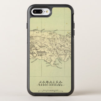 Jamaica Lithographed Map OtterBox Symmetry iPhone 7 Plus Case