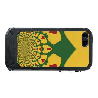 Jamaica Lovely Hearts of Love Rasta Colors Incipio ATLAS ID™ iPhone 5 Case