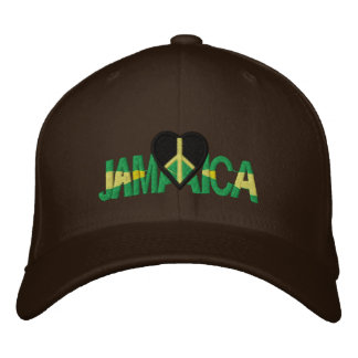 JAMAICA LUV EMBROIDERED HAT