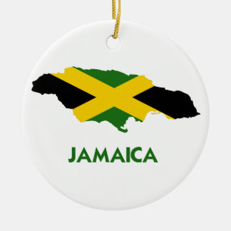 JAMAICA MAP CHRISTMAS ORNAMENT