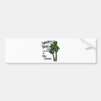 Jamaica Mon drk Bumper Sticker