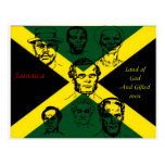 jamaica national hero postcard