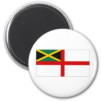 Jamaica Naval Ensign Refrigerator Magnet