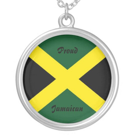 Jamaica necklace-proud jamaican