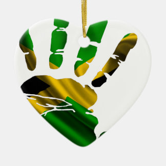 JAMAICA NICE HAND FLAG PRODUCTS CHRISTMAS ORNAMENT