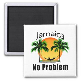 Jamaica No Problem Magnet