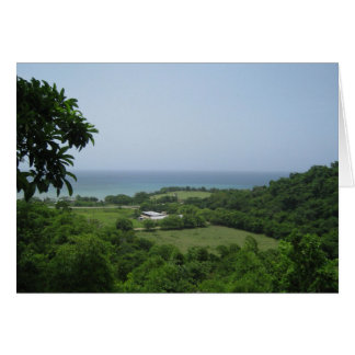 Jamaica Ocean View Note Cards