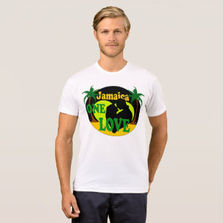 Jamaica One Love Sunset Honeymoon T-Shirt