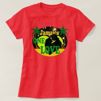 Jamaica One Love Sunset Stars Honeymoon T-Shirt