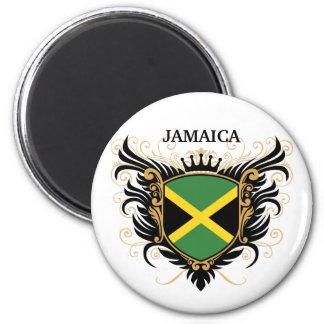 Jamaica [personalize] 6 cm round magnet