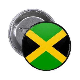 Jamaica quality Flag Circle 6 Cm Round Badge