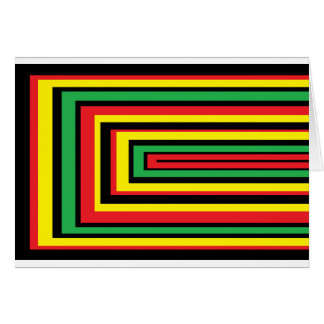 JAMAICA rasta roots colors Cards