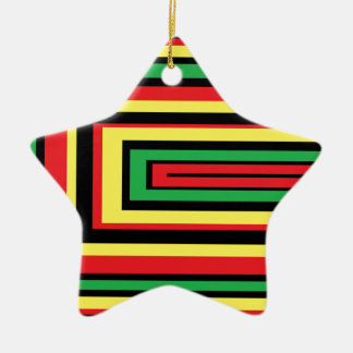 JAMAICA rasta roots colors Christmas Ornament
