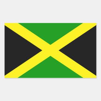 Jamaica Rectangular Sticker