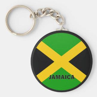 Jamaica Roundel quality Flag Keychain