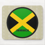 Jamaica Roundel quality Flag Mouse Pad