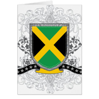Jamaica Shield 2 Greeting Card