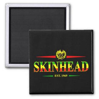 Jamaica Skinhead 1969 Square Magnet