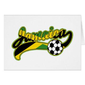 Jamaica Soccer Card