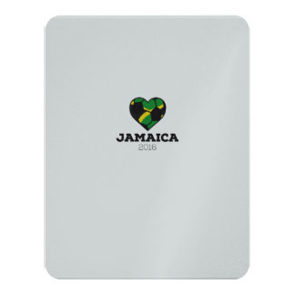 Jamaica Soccer Shirt 2016 11 Cm X 14 Cm Invitation Card