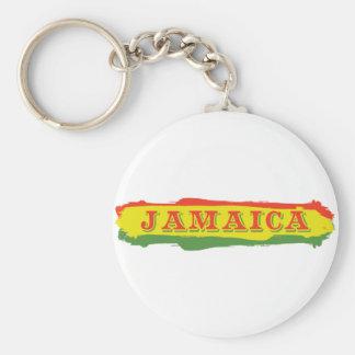 Jamaica Stripes Key Chain